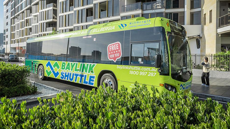 Baylink Shuttle Bus