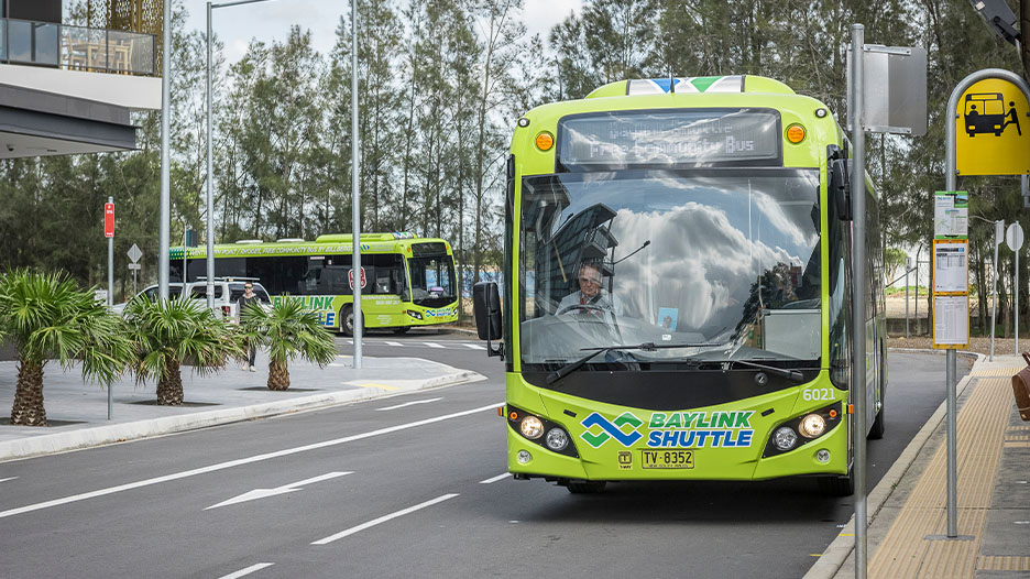 Baylink Shuttle Bus